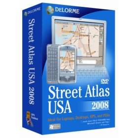 Mapping software, turn your PDA or laptop into a full