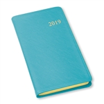 2019 Weekly Pocket Planner Calendar Blue