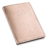 2019 Gallery Leather Desk Agenda Monthly / Weekly Planner Organizer (Rose Gold)
